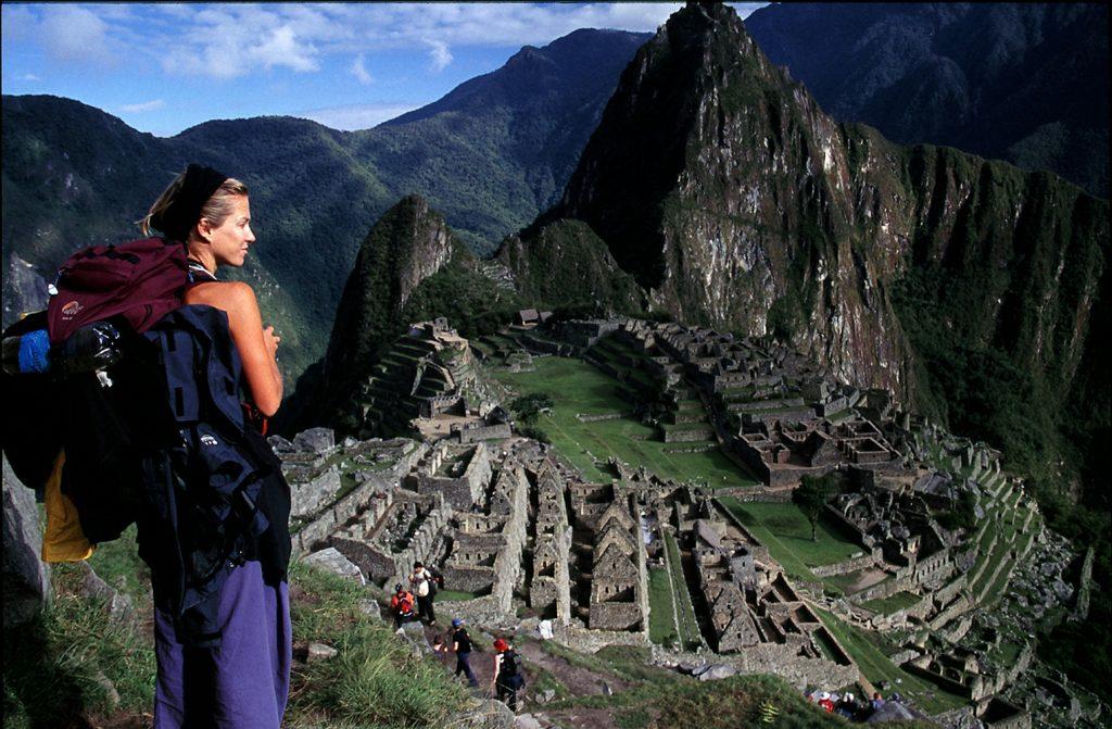 Machu Pichu com Inês
